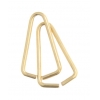 Beadalon Jump Ring Triangle 6.5x10.4mm Gold 35ppcs